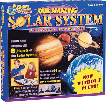 our solar system (for kids!) as of today